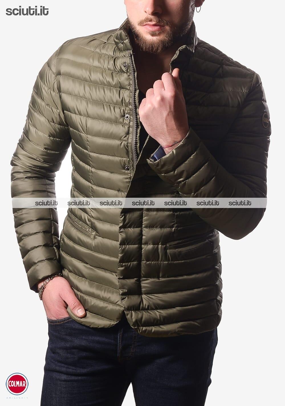 factory authentic 3ae54 7844e Piumino Colmar uomo modello giacca verde militare | Sciuti.it