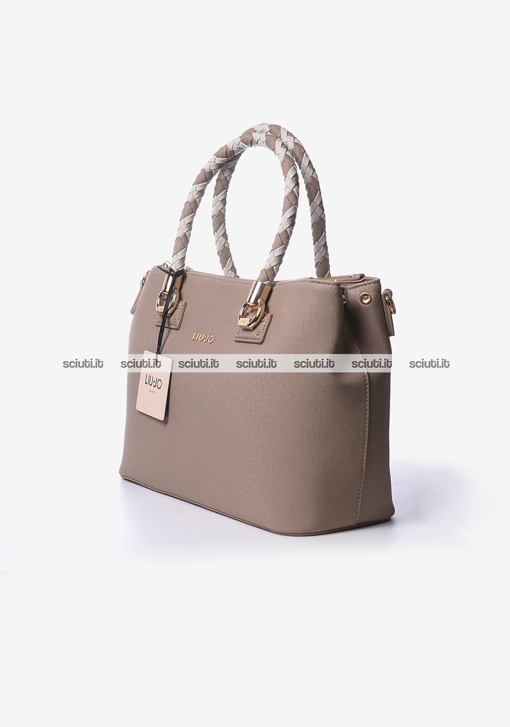 Borsa shopping Liu Jo donna It bag marrone   Sciuti.it