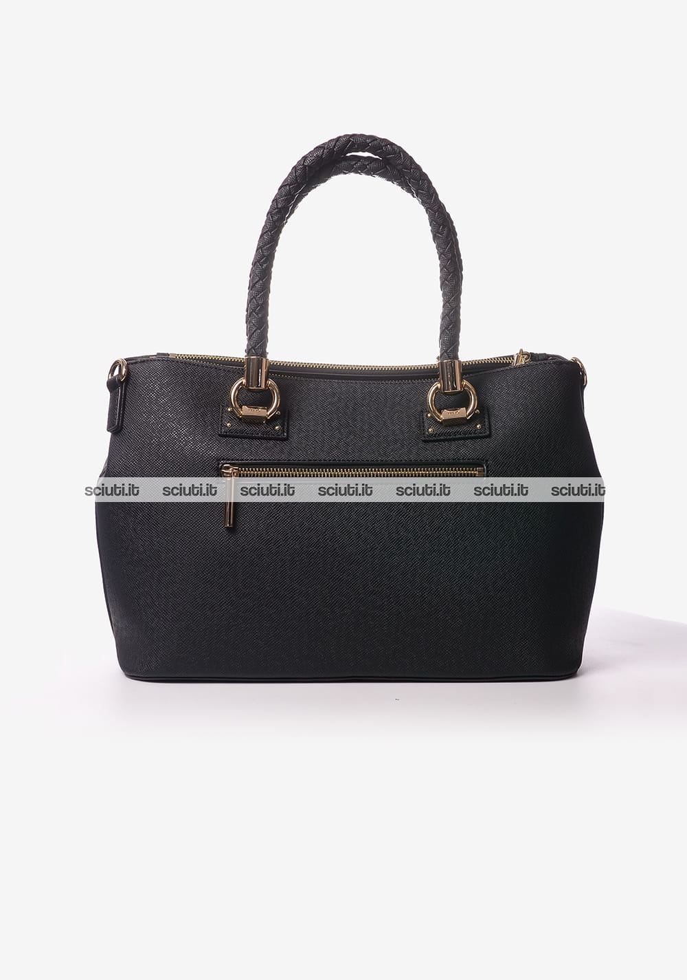 Borsa shopping Liu Jo donna 2 zip Manhattan nero  bd948d5433f