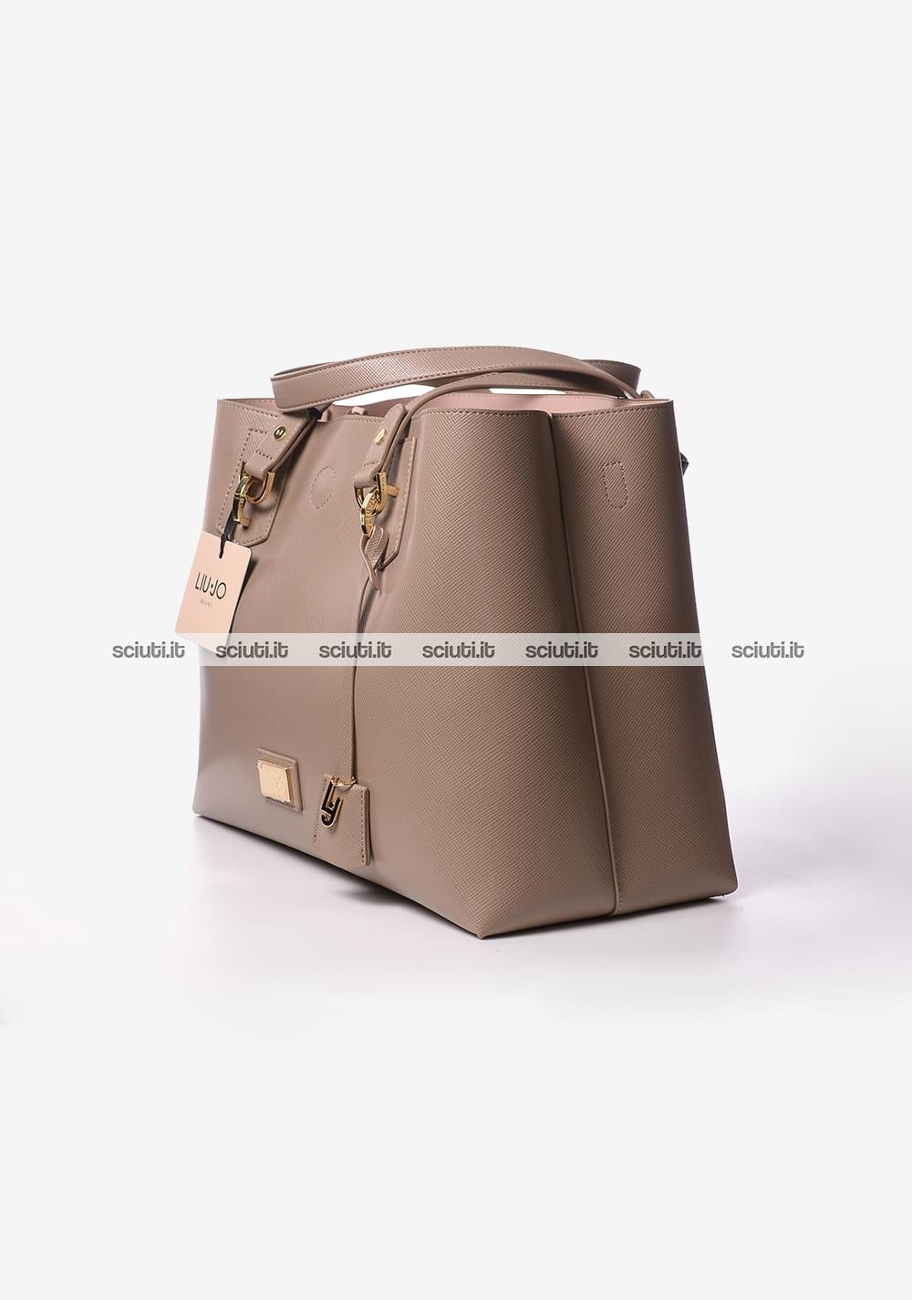 Borsa a spalla Liu Jo donna Hawaii marrone  2d1be4561ea
