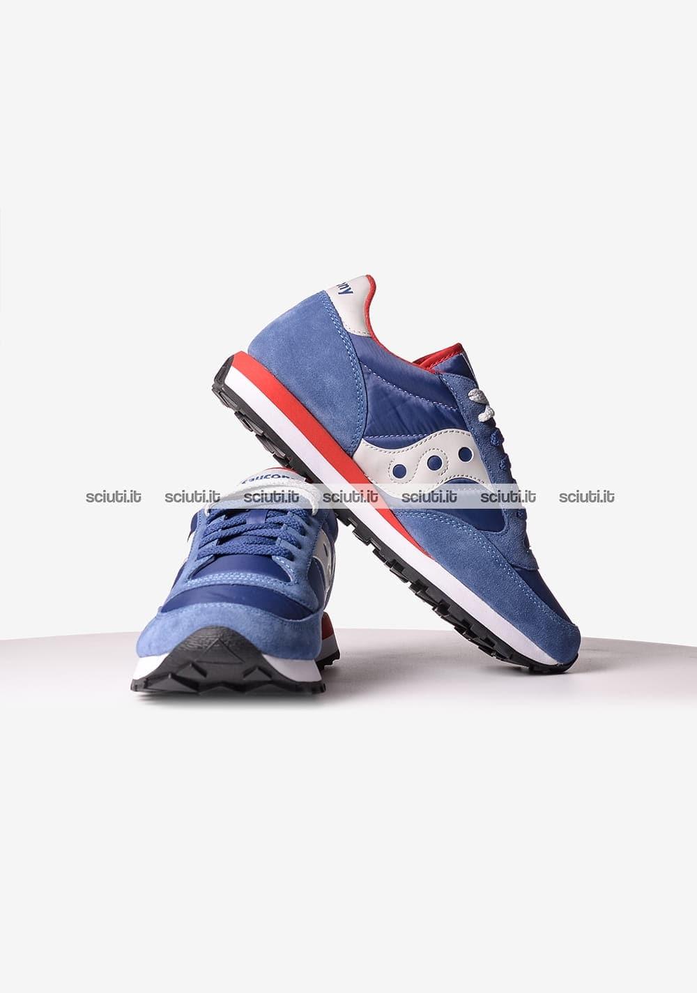 Scarpe Saucony uomo Jazz blu rosso  500cb30c373