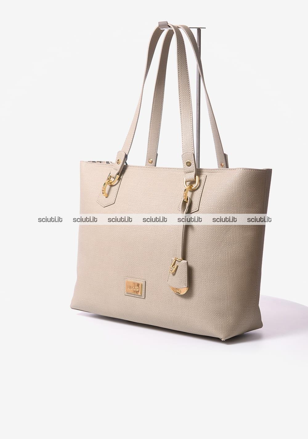 Borsa shopping Liu Jo donna Hawaii beige  77d4afc84c1