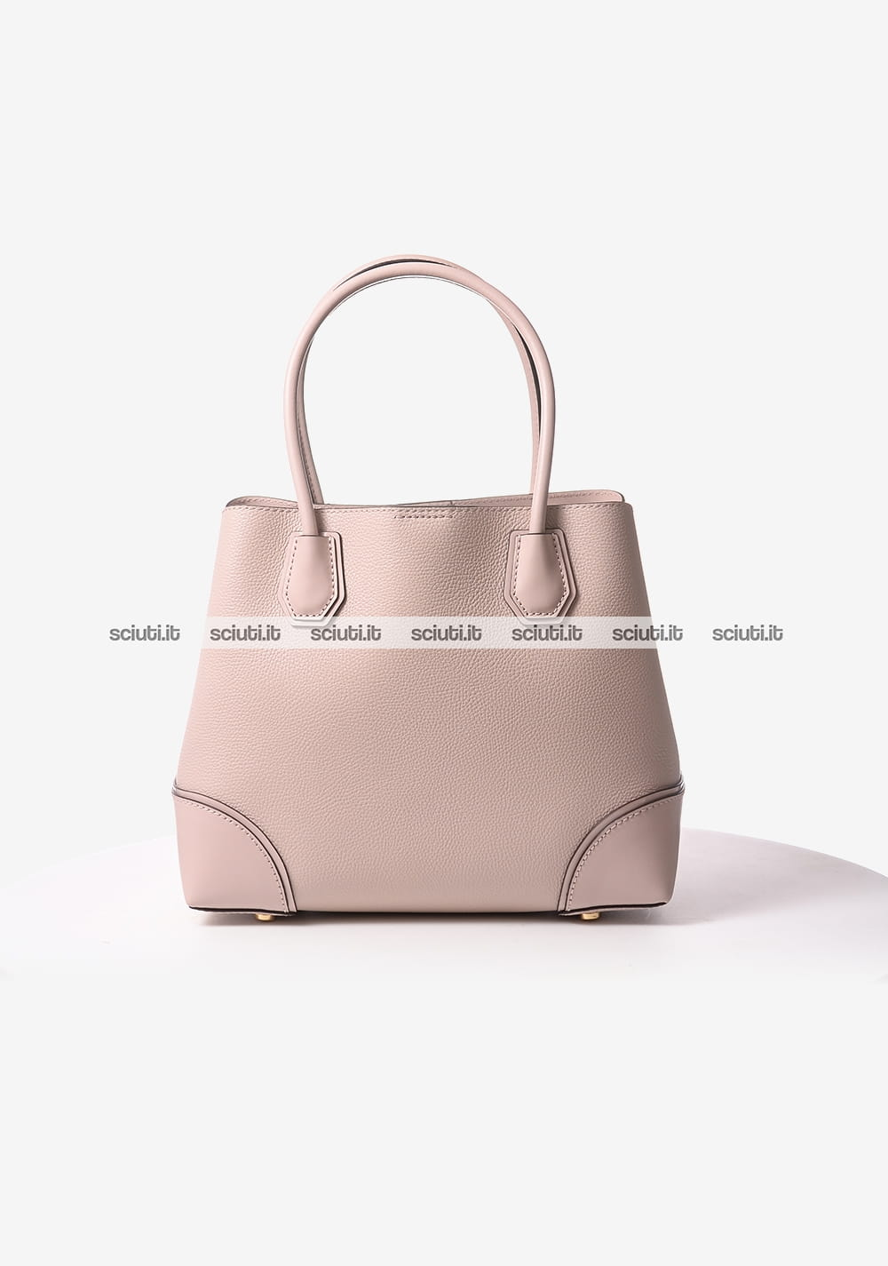 Borsa a spalla Michael Kors donna Mercer Gallery media in pelle rosa ... d1908c63c5e