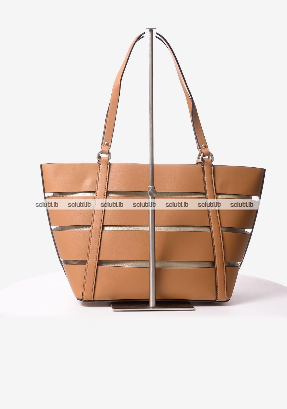 Borsa shopping Guess donna Exie marrone | Sciuti.it