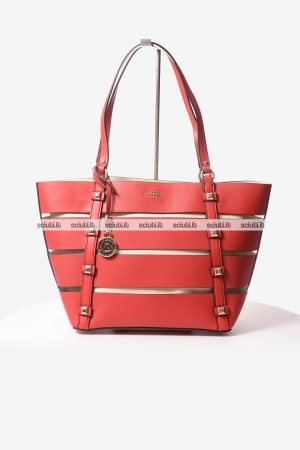 Borsa shopping Guess donna Exie rosso