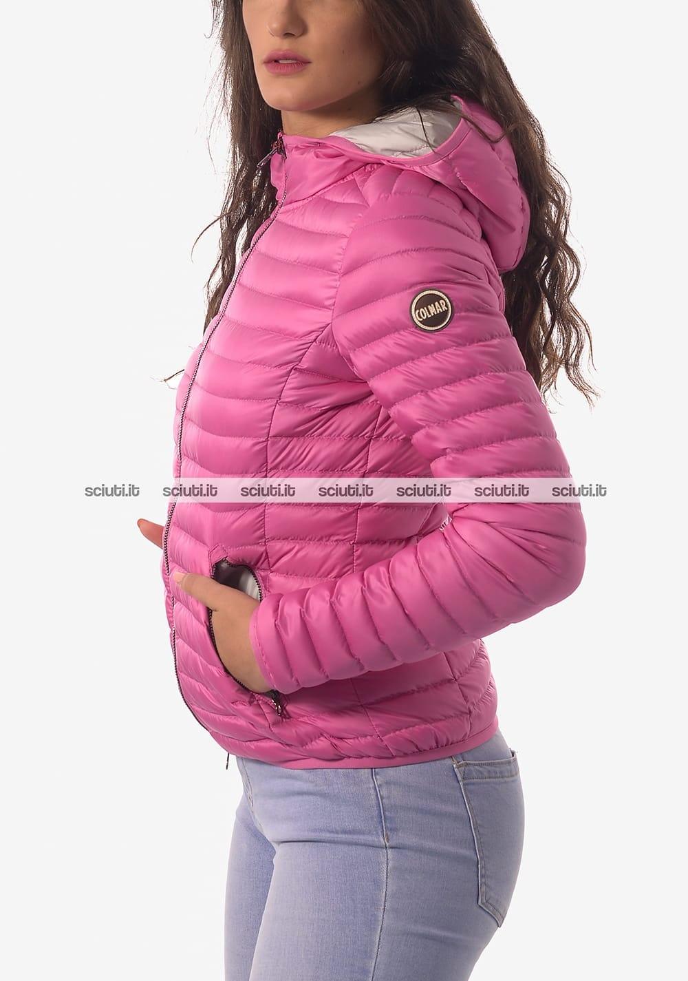 sale retailer ab4e5 6c98d Piumino Colmar donna fucsia leggero con cappuccio | Sciuti.it
