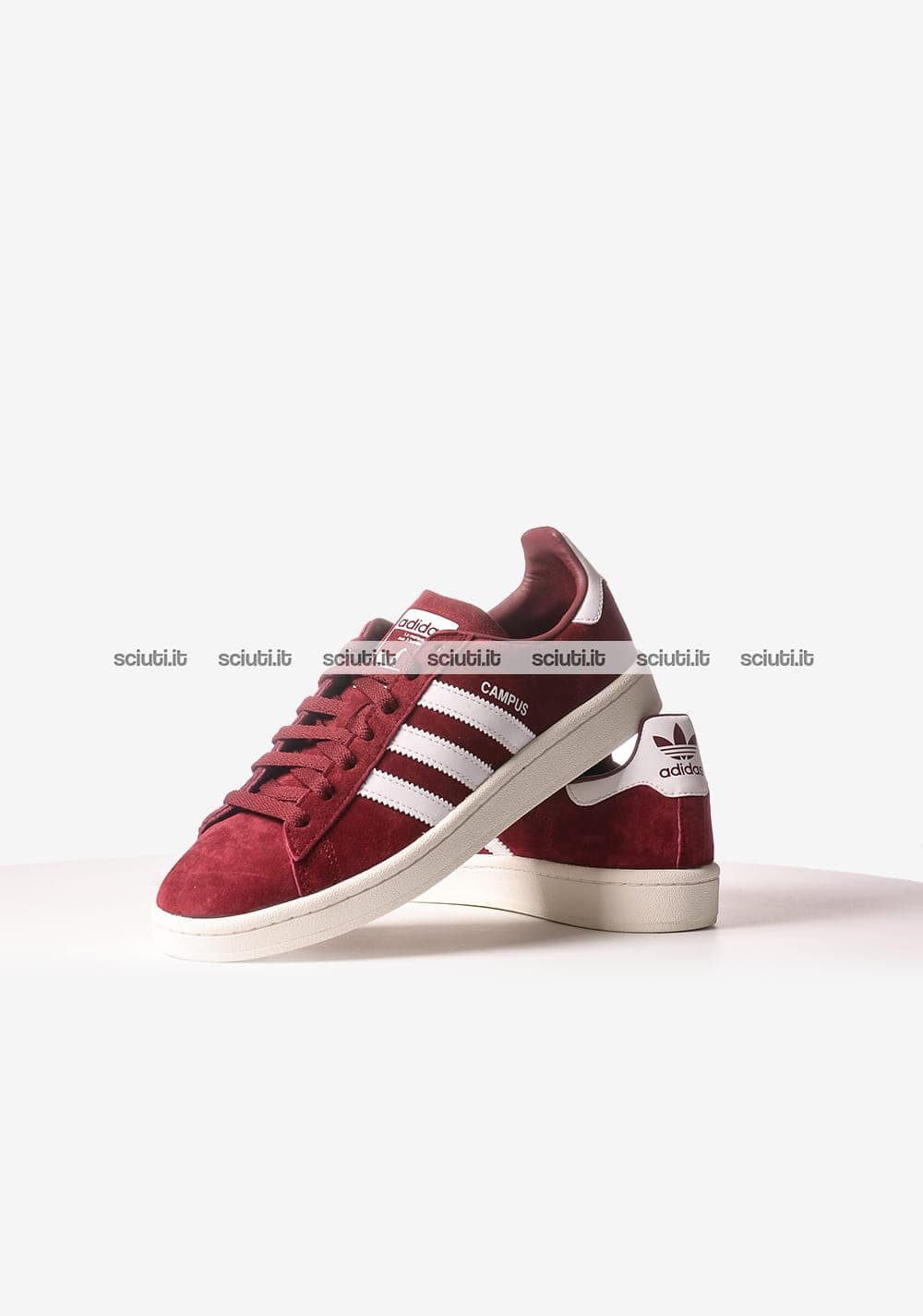 adidas campus bordeaux uomo