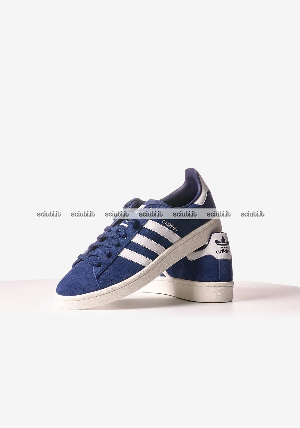 wholesale dealer 00c18 3db4a adidas campus blu uomo