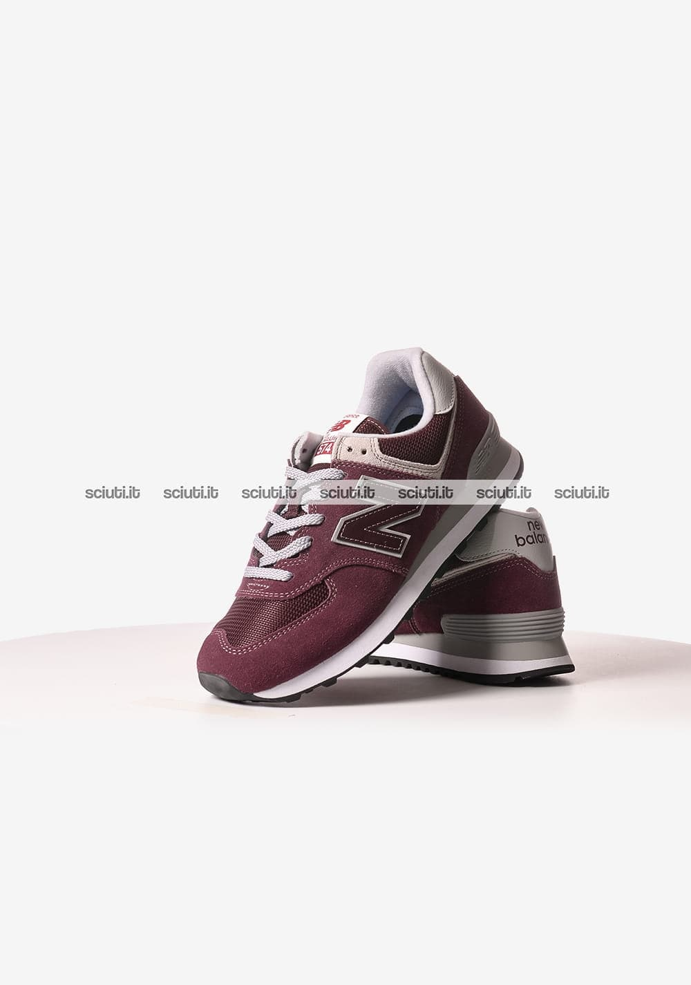 scarpe new balance uomo 574 bordeaux