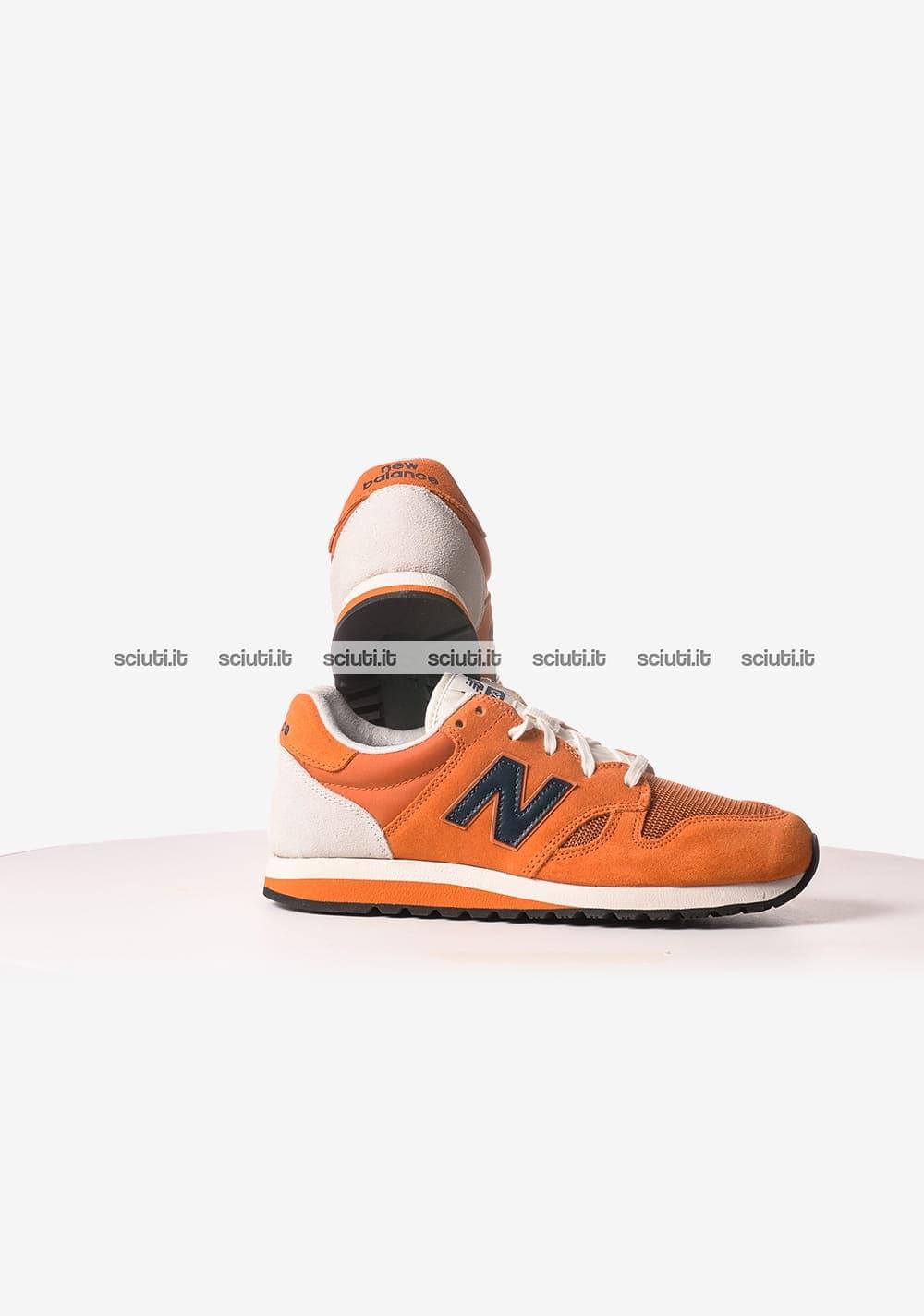 Scarpe New Balance uomo 520 arancio blu   Sciuti.it