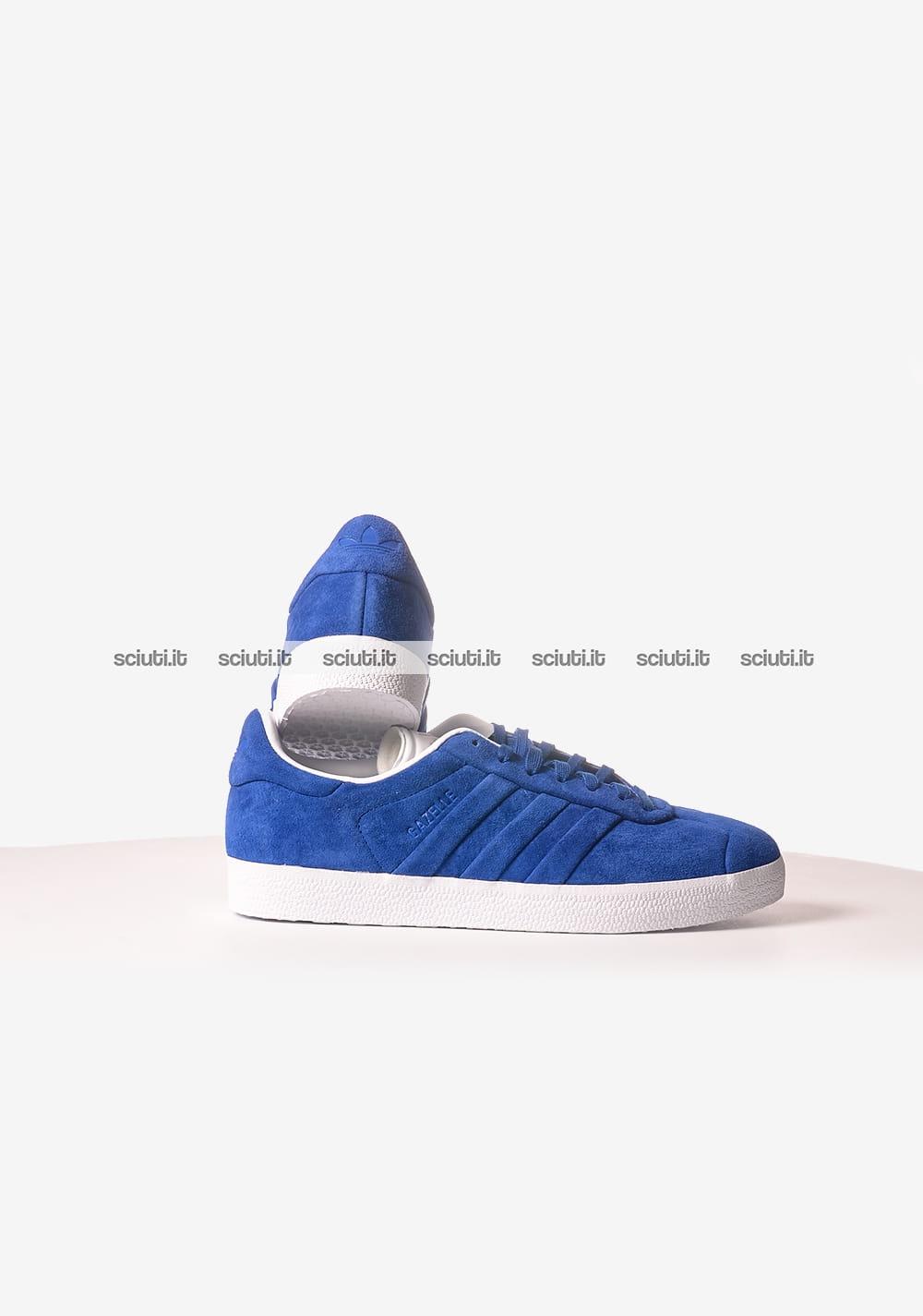 adidas gazelle blu scuro uomo