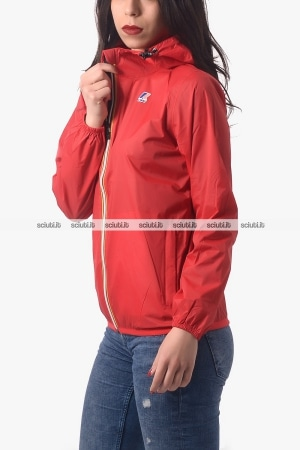 Giacca Kway donna Claudette Le Vrai 3.0 rosso