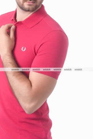 Polo Fred Perry uomo rosso