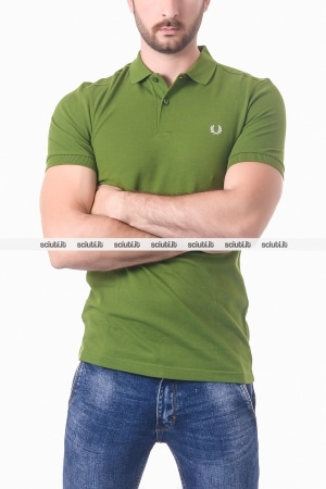 Polo Fred Perry uomo verde