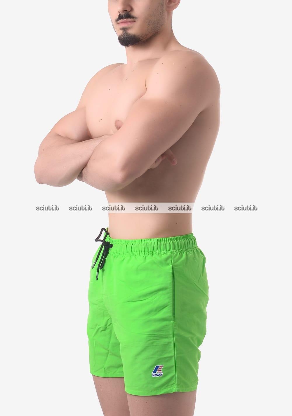 3616a0b248a4 Costume boxer uomo Kway Le Vrai 3.0 Oliver verde fluo | Sciuti.it