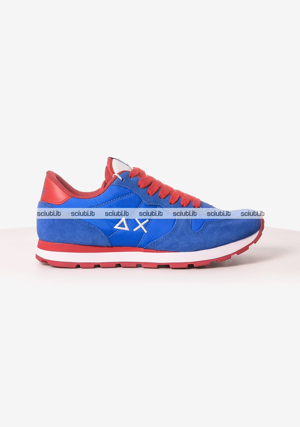 Scarpe Sun68 uomo running bicolor nylon blu royal | Sciuti.it