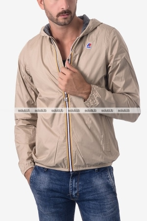 Giacca Kway uomo Jacques Jersey beige sabbia
