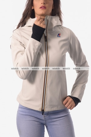 Giacca Kway donna Lil Bonded bianco
