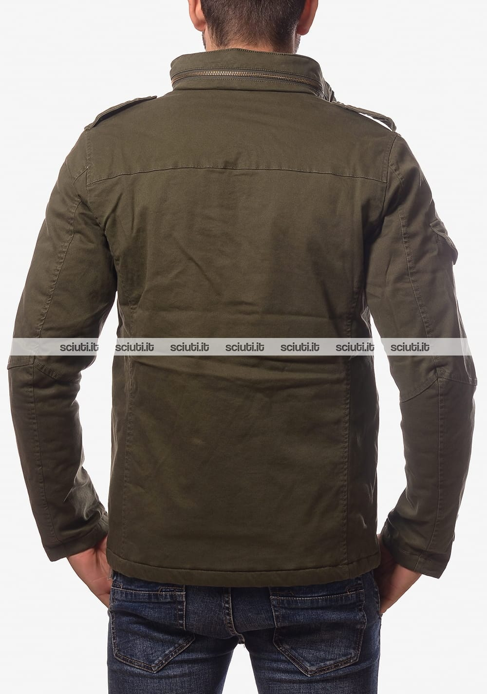 wholesale dealer 6a583 932a8 Giubbotto SUN68 uomo Field Jacket verde militare