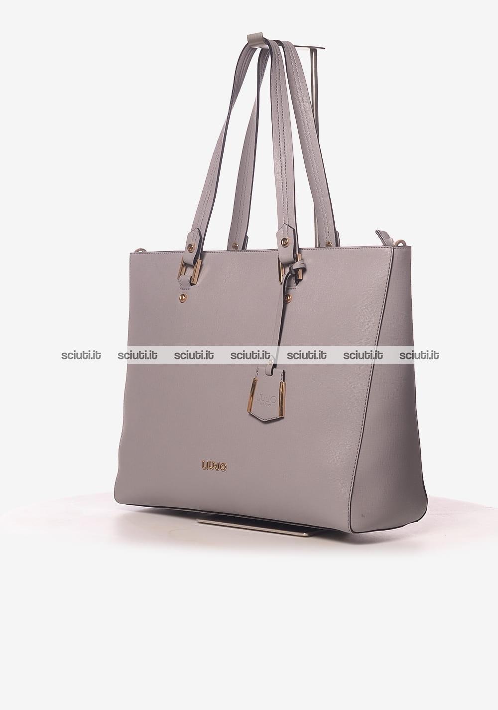1e61365c1f Borsa shopping saffiano Liu Jo donna Isola grigio | Sciuti.it