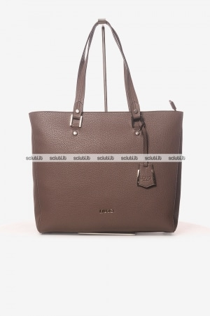 Borsa shopping Liu Jo donna Isola marrone