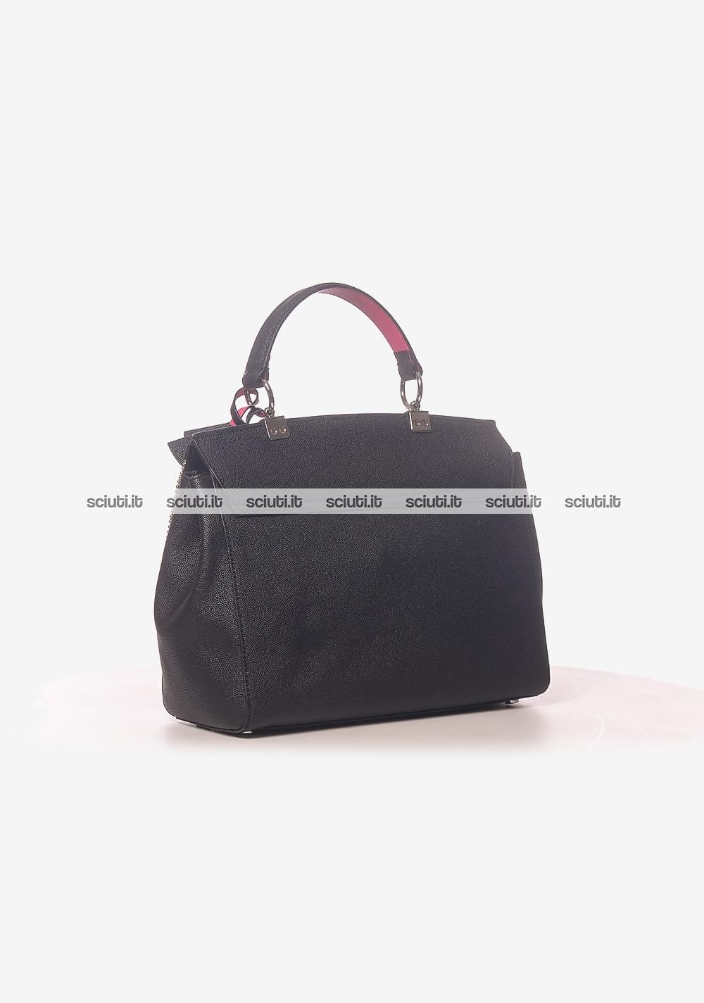 5cfe92abb9 Borsa a mano Guess Luxe donna Glory in pelle nero | Sciuti.it