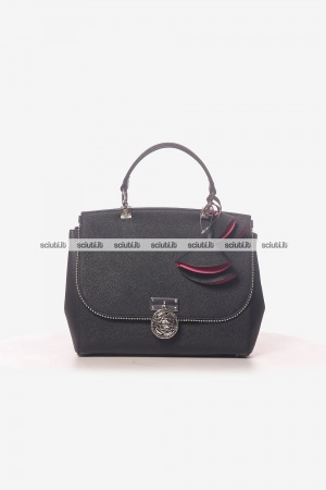 Borsa a mano Guess Luxe donna Glory in pelle nero