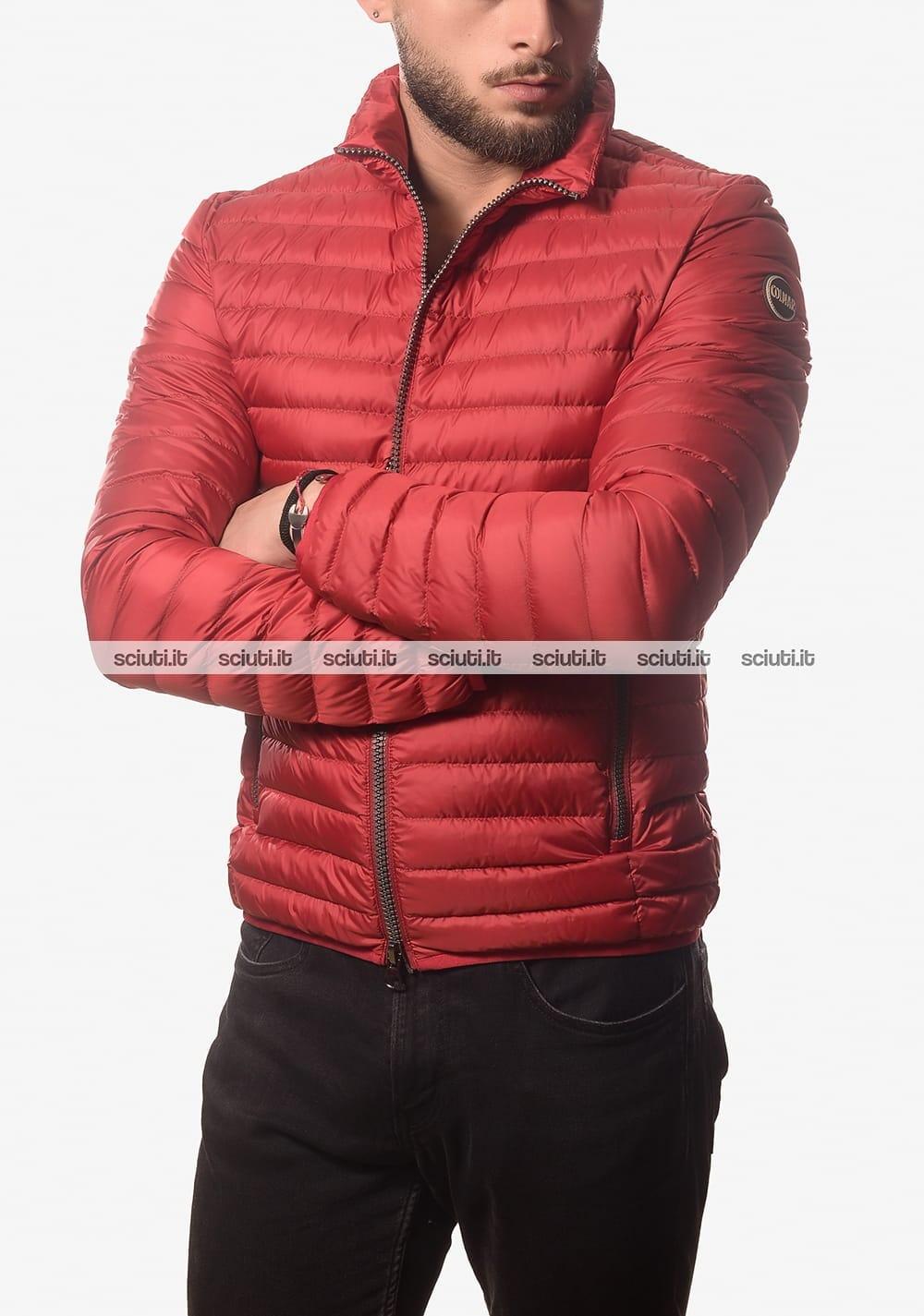 best service c78a0 9e9b8 Piumino Colmar uomo leggero semiopaco senza cappuccio rosso
