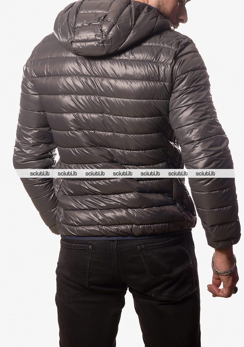 buy popular e66b6 b98a8 Piumino North Sails uomo con cappuccio grigio scuro