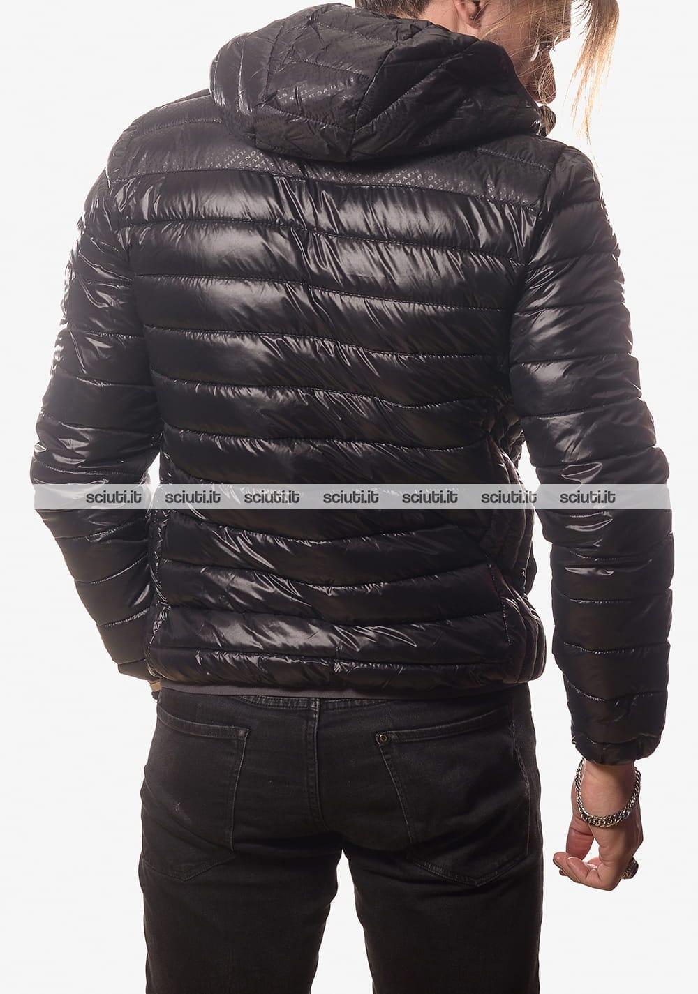 Piumino North Sails uomo con cappuccio nero  fefa456d08c