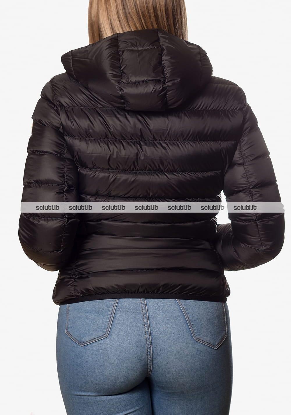Piumino Colmar donna pesante con cappuccio nero   Sciuti.it