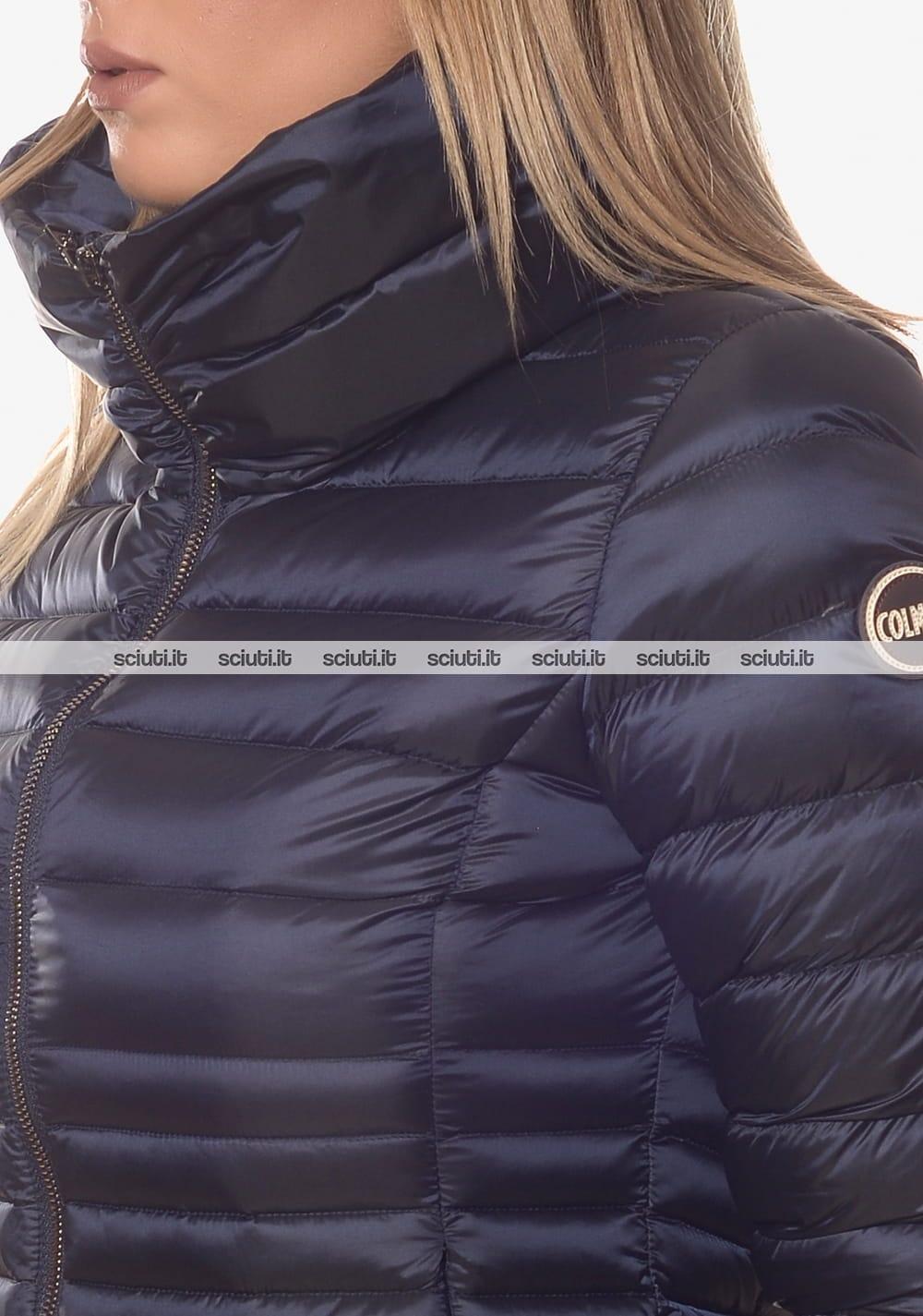 hot sale online e65d5 a99de Piumino Colmar donna pesante collo alto blu