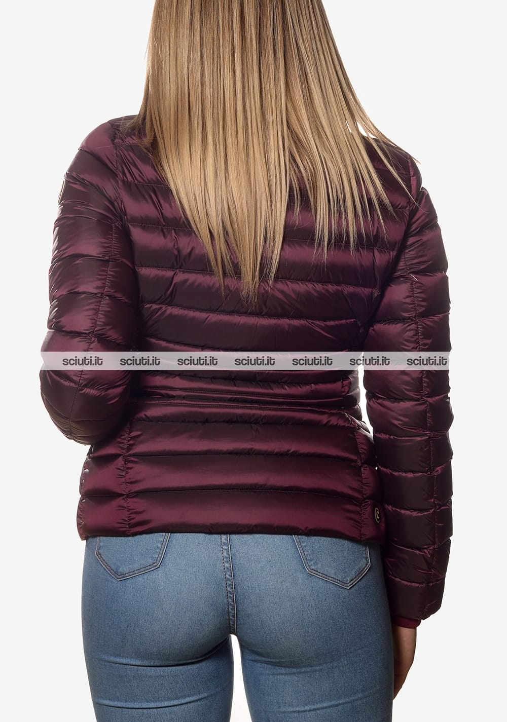 huge discount 820dc d4706 Piumino Colmar donna pesante collo alto bordeaux