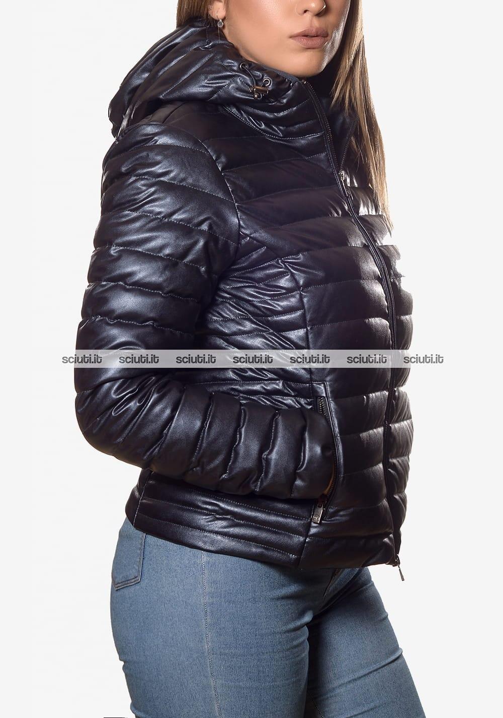 premium selection 50ff8 fe403 Piumino Ciesse donna Aghata con cappuccio blu