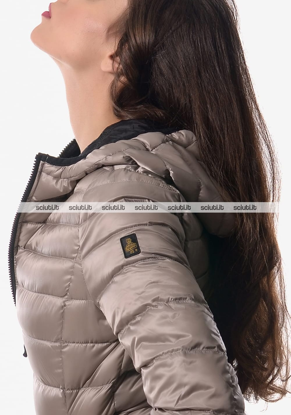 Piumino medio Refrigiwear donna Long Mead Jacket con