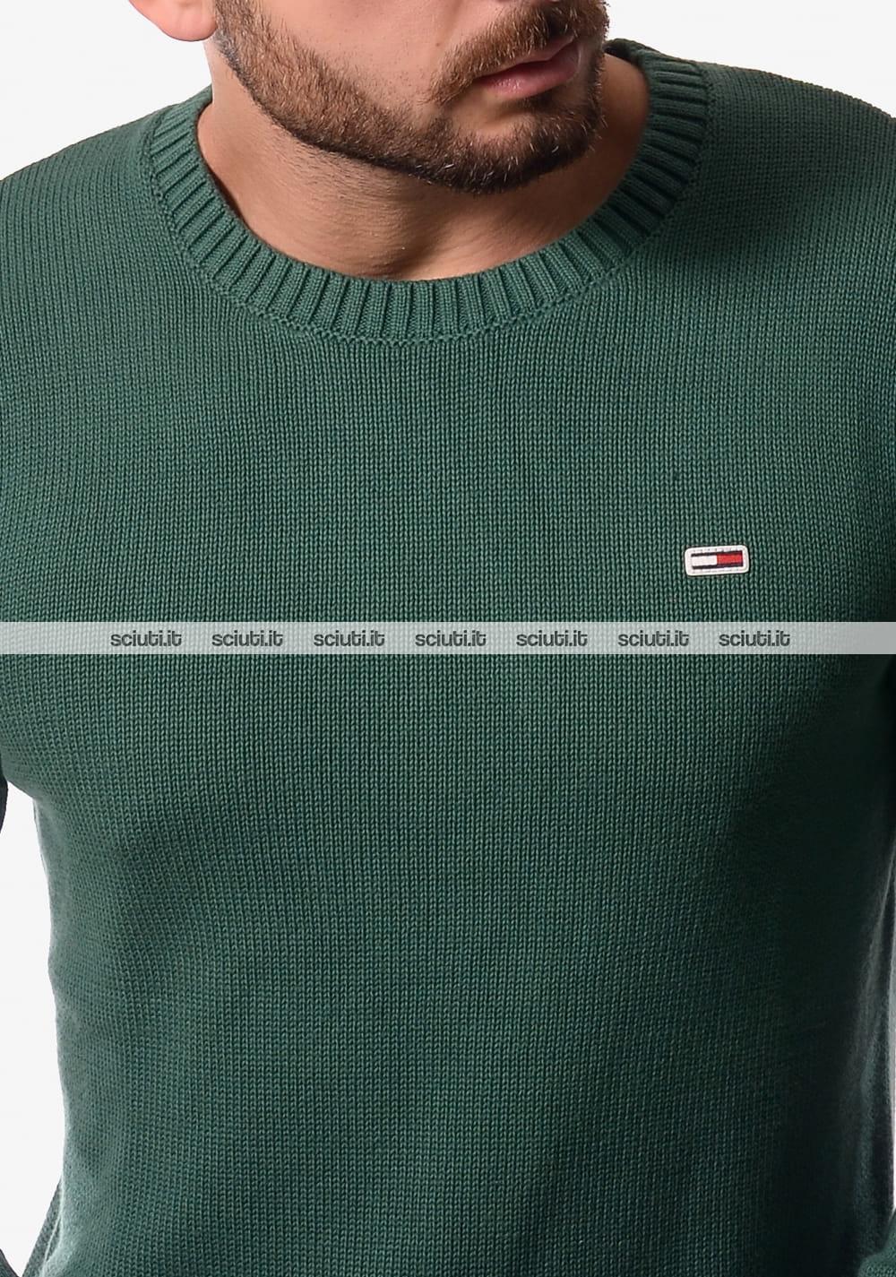 TOMMY HILFIGER maglia uomo 100% cotone