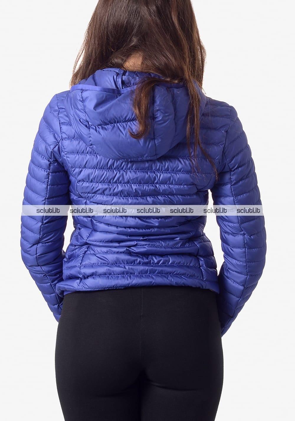on sale b2ef6 34785 Piumino Colmar donna leggero con cappuccio azzurro   Sciuti.it