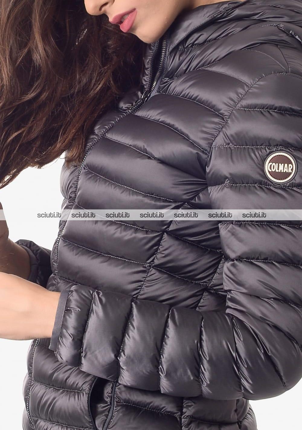 cheaper ae6ba 482ea Piumino pesante Colmar donna con cappuccio grigio