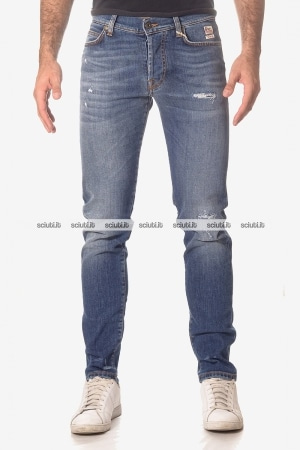 Jeans Roy Rogers uomo Julian PF18 superior denim