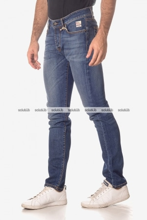 Jeans Roy Rogers uomo Carlin 529 superior denim