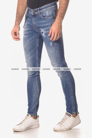 Jeans Roy Rogers uomo Campa Deluxe denim stretch