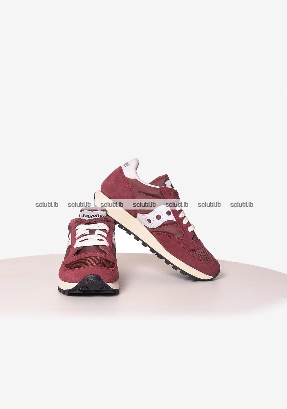 Scarpe donna saucony shadow s60219 (40.5 12 bordeaux) amazon shoes bordeaux sneakers basse
