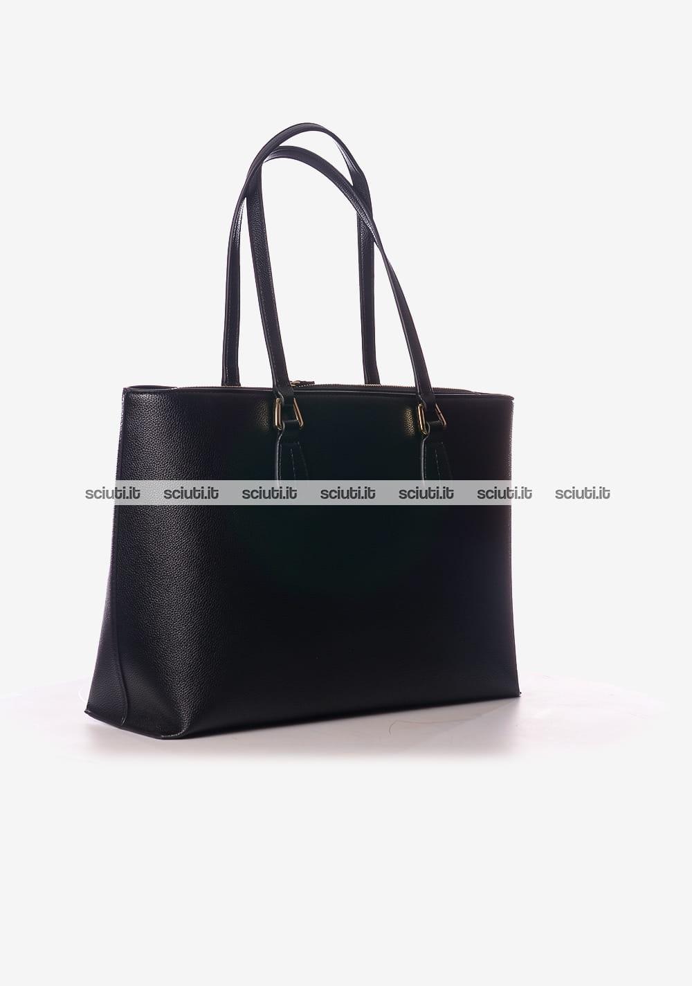 097a113e20 Borsa shopping grande Emporio Armani donna logo nero | Sciuti.it