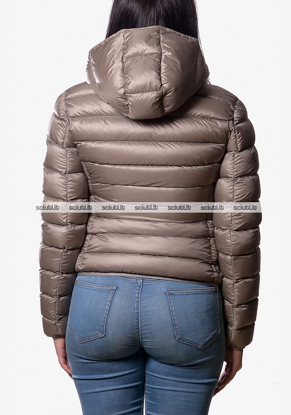 Sensitive Lodge click  Piumino Colmar donna pesante con cappuccio beige | Sciuti.it