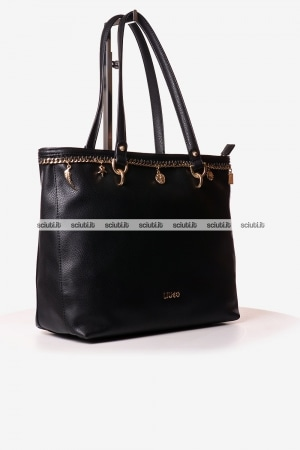 Borsa shopping Liu Jo donna Lady Majesty nero