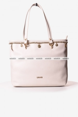 Borsa shopping Liu Jo donna Lady Majesty beige