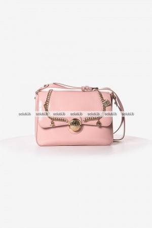 Borsa tracolla media Liu Jo donna Lady Majesty vernice rosa