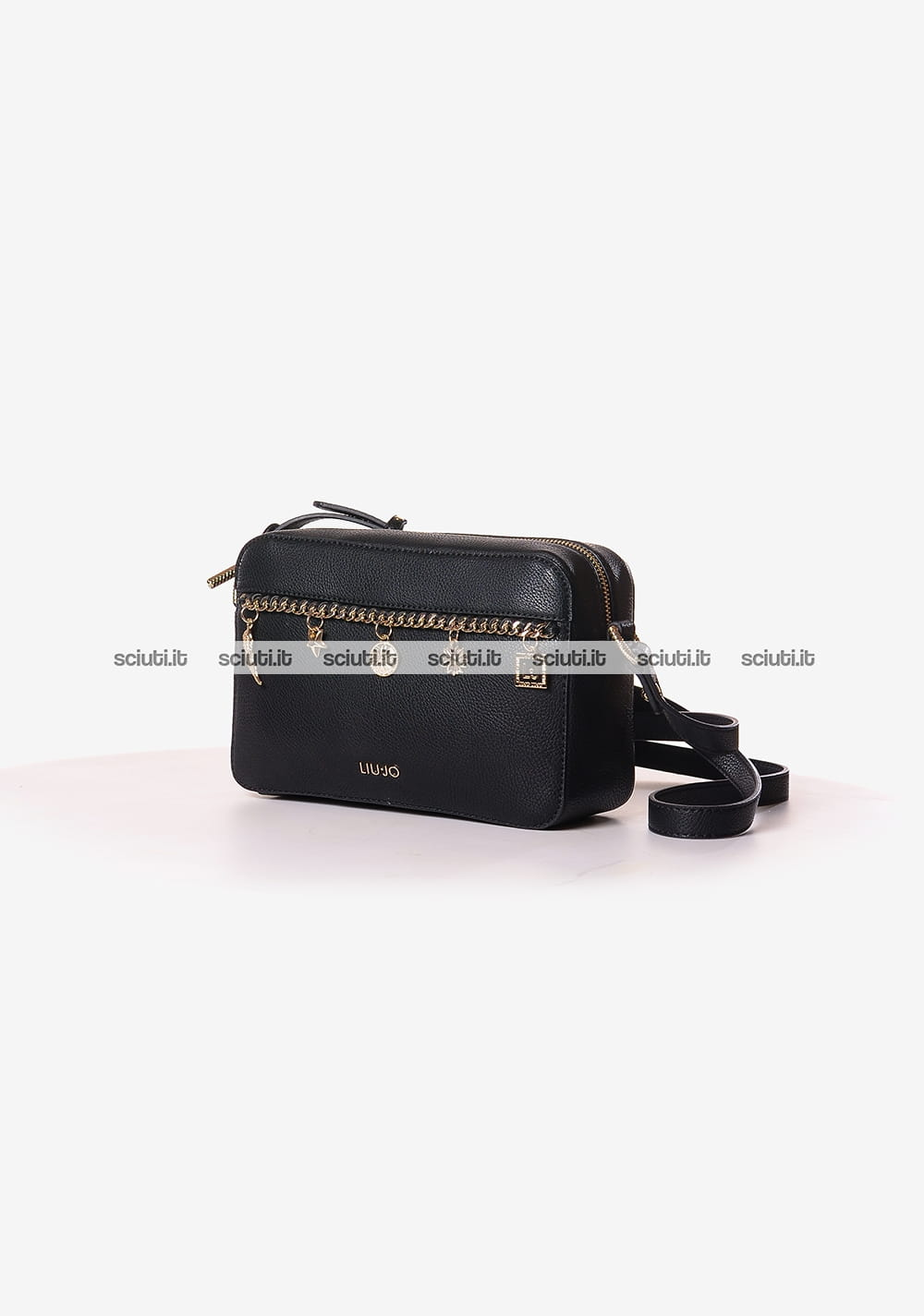 Borsa tracolla Liu Jo donna Lady Majesty nero | Sciuti.it