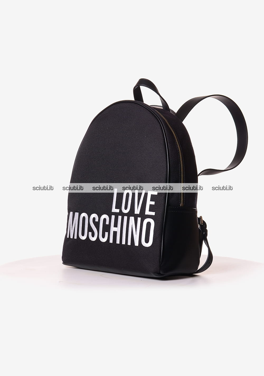 d30806381e Zaino Love Moschino donna logo in contrasto nero | Sciuti.it