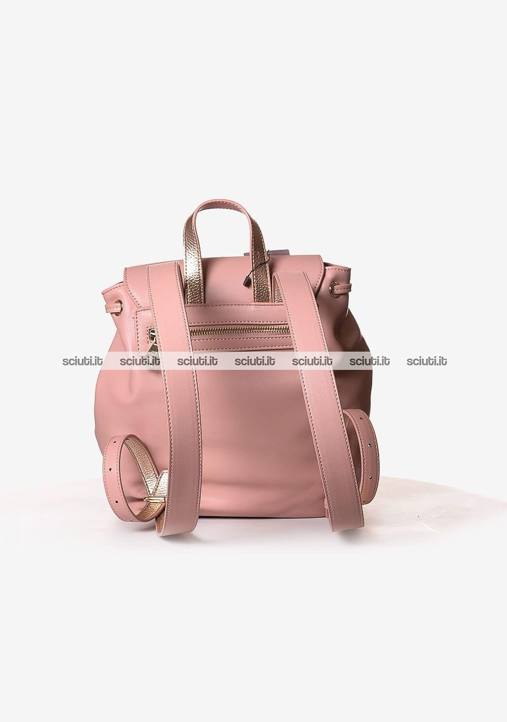 Zaino Love Moschino donna rosa laminato | Sciuti.it